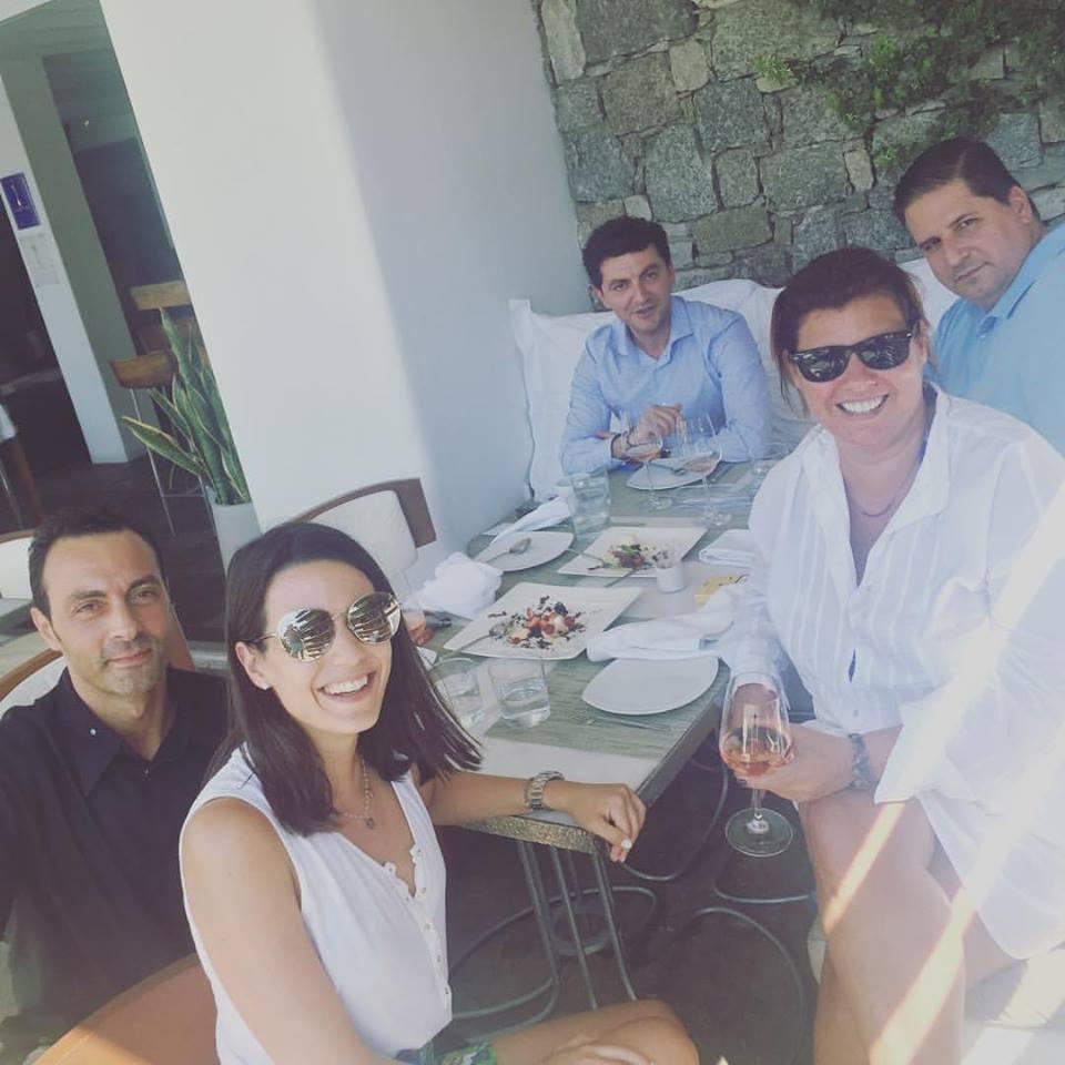 Νίκος Ζερβός, Ιλεάνα Ισμυρίδη, Φαίη Μπέη, Πάνος Δεληγιάννης, Κώστας Αλεξίου