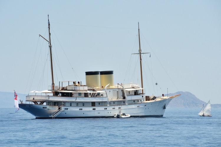 Το σκάφος Talitha του Tara Getty