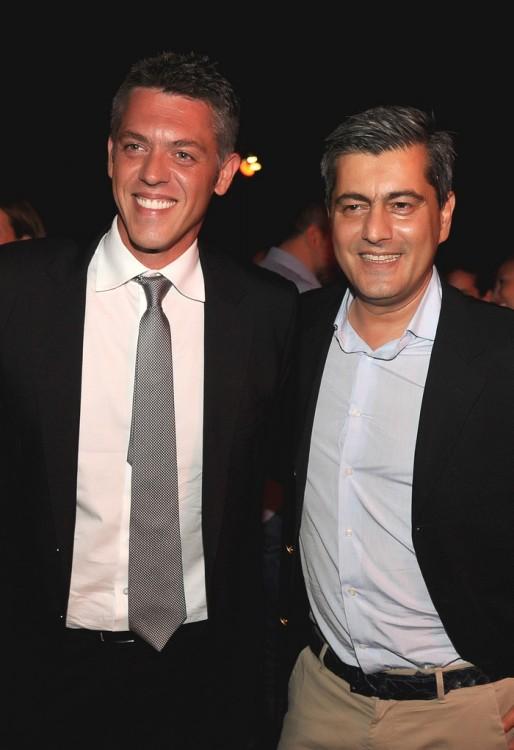 Χρήστος Κοπελούζος και Οδυσσέας Χριστοφόρου Αντιπρόεδρος Ιπποδρομίες