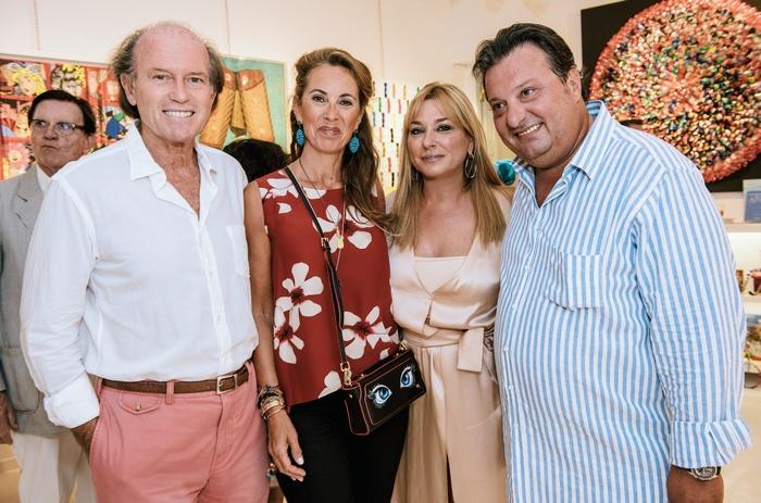 Ανδρέας και Μιλένα Τσαβλίρη, Βαγγέλης και Μαρίνα Καποπούλου