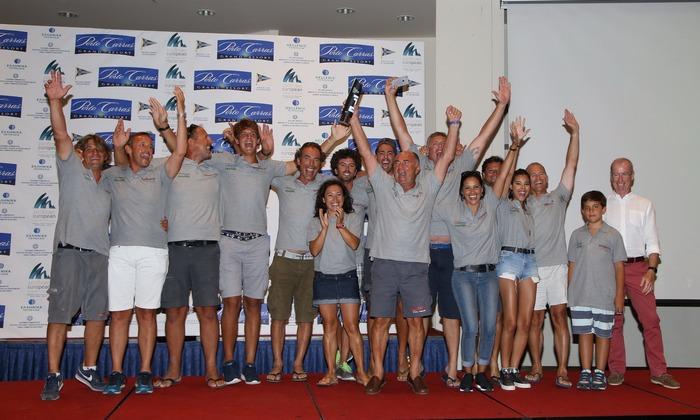 Νικητές στην κατηγορία Β το σκάφος SCUGNIZZA-Total Lubmarine