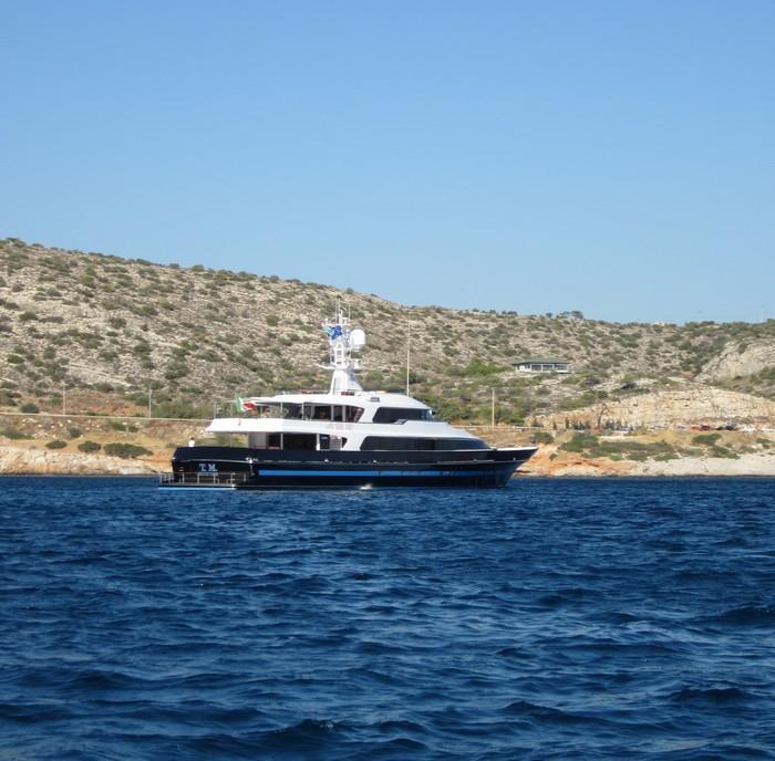 Το ιστορικά πολυτελές σκάφος «Τ.Μ.Blue»