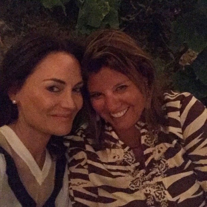 Με την αγαπημένη μου φίλη και διευθύντρια του Ποσειδωνίου, Μαρία Στρατή