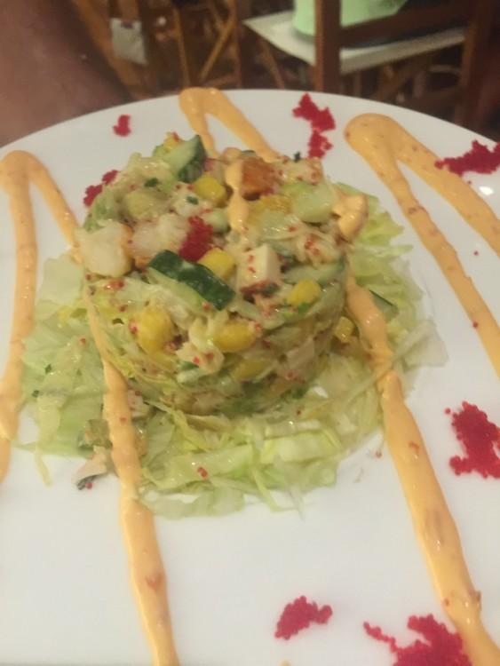 "The Lobster Salad. ""Sexy"" την περιγράφει το menu..."