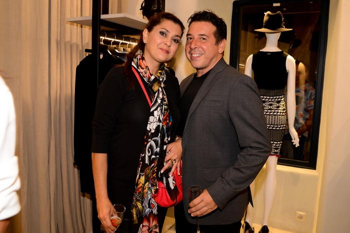 H Αναστασία Γκόφα με τον σύζυγό της Κωνσταντίνο Γκουντή