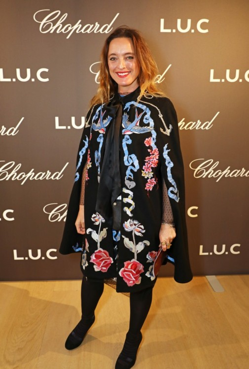 LONDON, ENGLAND - OCTOBER 11: Alice Temperley attends the cocktail opening of the Chopard exhibition 'L.U.C - L'art d'une Manufacture' at Phillips Gallery on October 11, 2016 in London, England. Pic Credit: Dave Benett
