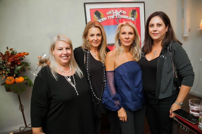 Εύη Φέτση, Ιωάννα Μουστίδη, Στέλλα Βουλγαράκη, Στέλλα Έλληνα-Περβανά