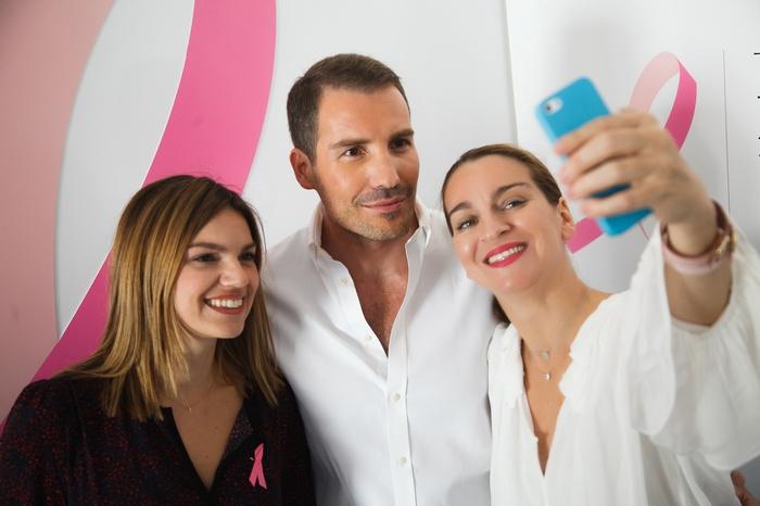 Ολγα Φούρναρη (Marketing Manager Darphin), Δούκας, Μάρσια Χατζηγεωργίου (Pr & Digital Manager Estee Lauder)
