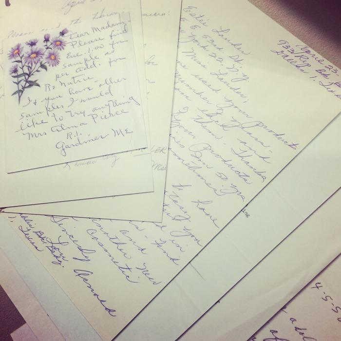 Ιδιόχειρα γράμματα της...