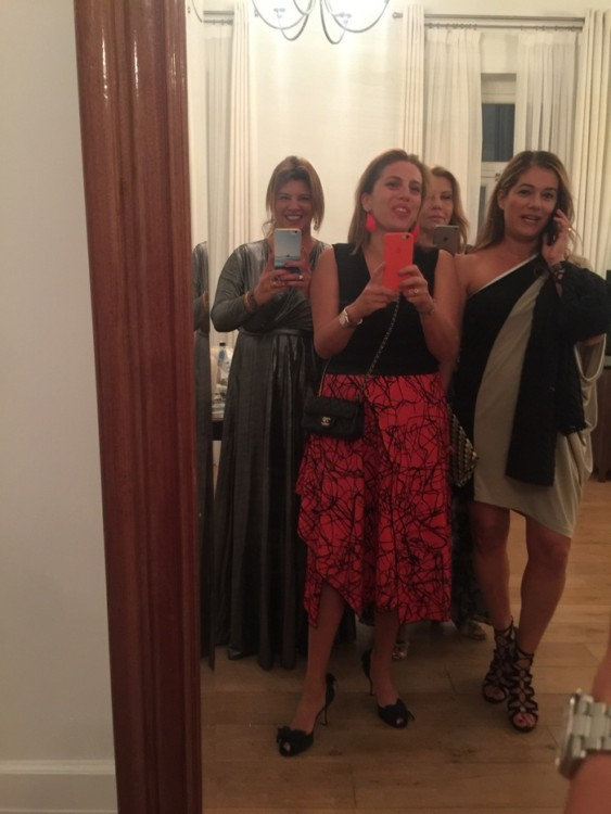 With my besties! Marily, Lilian, Salome...