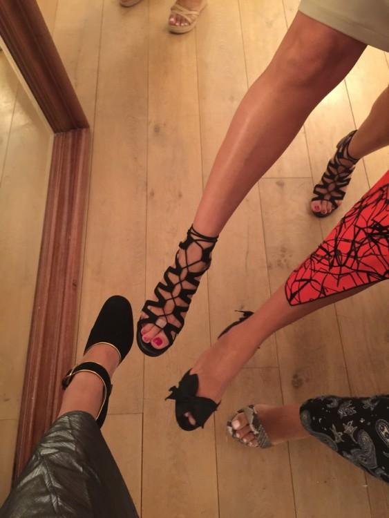 Keep you heels, head & standards high!