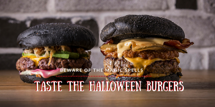 ok HALLOWEEN WEEK Burger Join Trick or Treat Saruman Morgana