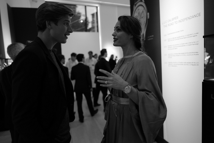 Toby Huntington Whiteley & Yasmin Le Bon