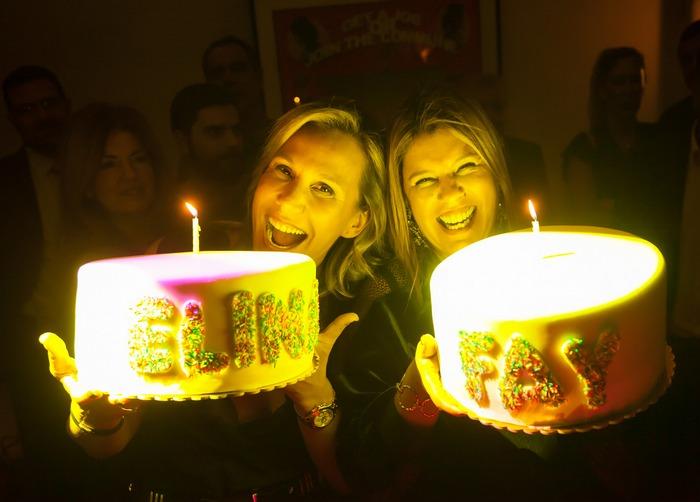 Happy birthday to us Elinaki! xxx