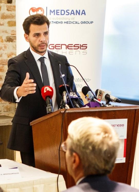 Δρ. Βασίλης Αποστολόπουλος (Διευθύνων Σύμβουλος Ομίλου Ιατρικού Αθηνών)