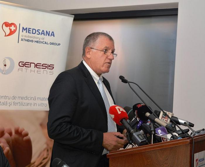 Δρ. Κωνσταντίνος Πάντος (Διευθυντής της ΓΕΝΕΣΙΣ Αθηνών)