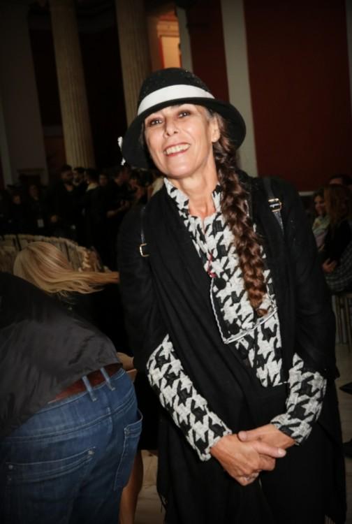 Η σχεδιάστρια καπέλων Κατερίνα Παπανικολάου- Καρούσου