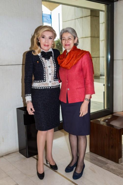 Μαριάννα Β. Βαρδινογιάννη, Irina Bokova