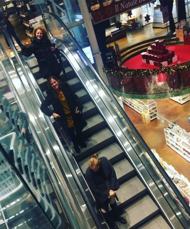 Φεύγοντας κατεβαίνουμε στο Eataly για ψώνια...
