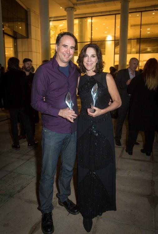 Ο Γιώργος Λυκιαρδόπουλος και η Αμαλία Μουτούση με τα πρώτα βραβεία Παράστασης και Γυναικείου Ρόλου για το «Κουκλόσπιτο».
