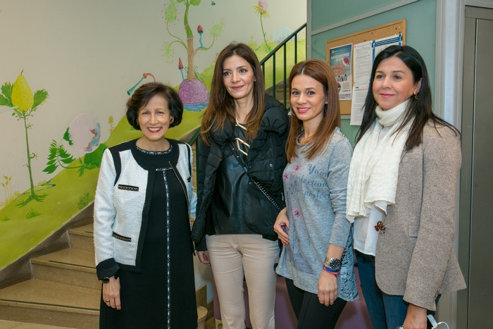 Η πρόεδρος της ΕΛΕΠΑΠ κα Μαριάννα Μόσχου με την Κατερίνα Λέχου, την χορογράφο Άρτεμη Ιγαντίου και την κα Χριστίνα Κατσουρίδη από την ΕΛΕΠΑΠ
