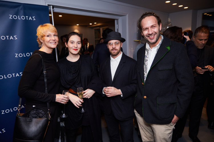 Elizabeth Forbes, Andrianna Glaviano, Stephan Colloredo-Mansfeld, Theo Gennitsakis