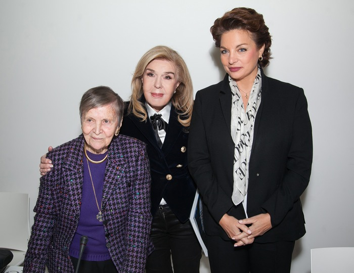 Ελένη Αρβελέρ, Μαριάννα Β. Βαρδινογιάννη, Άντζελα Γκερέκου