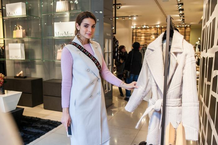 Η fashion blogger Παολίνα Διαμαντούλη με Sportmax outfit