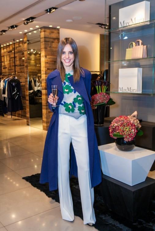 Η Χρυσιάννα Ανδριοπούλου με Sportmax outfit