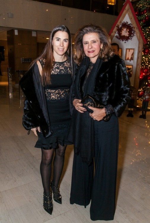 Μάϊρα Τσαβλίρη με την κόρη της Κλαίρη Τσαβλίρη