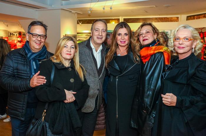 Νίκος Σταμπολίδης-Διευθυντής Μουσείου Κυκλαδικής Τέχνης, Ροδούλα Λαγουδάκου, Αλεξάνδρα Σουλαδάκη, Απόστολος Βερβέρογλου, Μαριάντζελα Ιέλο και Μίνα Παπαθεοδώρου-Βαλυράκη