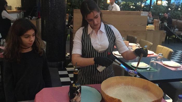 Tattaahh!!!!! Pasta alla Parmigiana!