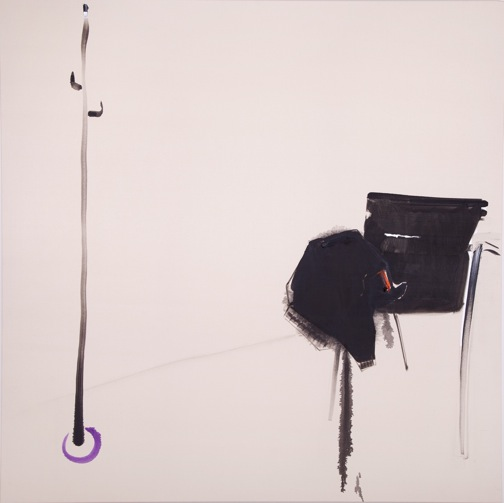 Papadopoulos, _...at home_, 2016, 130 x 130 cm, λάδι σε καμβά, με την ευγενικη παραχωρηση του καλλιτέχνη και της Eleni Koroneou Gallery, Aθήνα