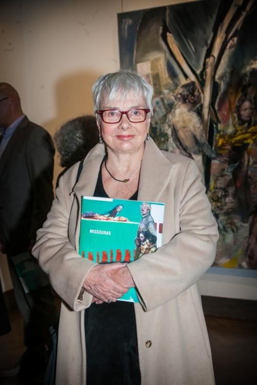 Η ηθοποιός και συγγραφέας Ξένια Καλογεροπούλου.