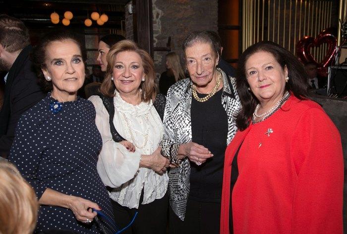 Ελένη Σαμαρά Κωνσταντακάτου, Κέττυ Φιλιππίδου, Καίτη Μεταξωτού, Ινώ Κωνσταντοπούλου