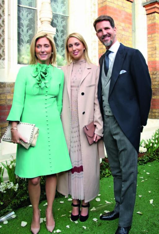 Πρίγκιπας Παύλος, Μαρί Σαντάλ και η κόρη τους Ολυμπία
