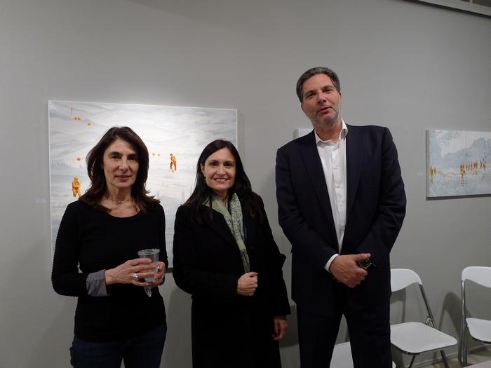 Ειρήνη Μπουντούρη, Πρέσβης Αργεντινής Carolina Perez Colman, Κωνσταντίνος Σαραντόπουλος
