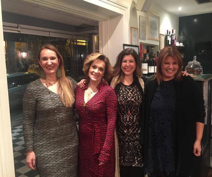 Ερυφίλη Γαλλή, Τζίνα Θανοπούλου, Κατερίνα Αθανασίου, Φαίη Μπέη