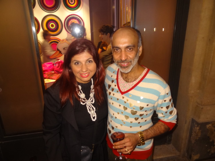 Με τον Manish Arora