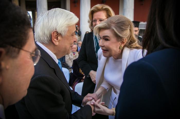 Προέδρου της Δημοκρατίας, κυρίου Προκοπίου Παυλοπούλου, ενώ στην εκδήλωση παραβρέθηκε η Πρέσβυς Καλής Θελήσεως τηςUNESCOκαι Πρόεδρος της Τιμητικής Επιτροπής τωνSpecialOlympicsHellas, κυρία Μαριάννα Β. Βαρδινογιάννη.