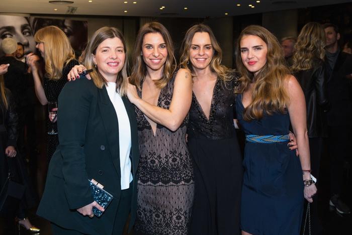 Ρεγγίνα Κουρή, Έλια Κεντρωτά, PR & Communications Manager MAC Greece & Balkans, Κατερίνα Κιάσσου, Brand Manager MAC, Μαριάννα Σμπώκου